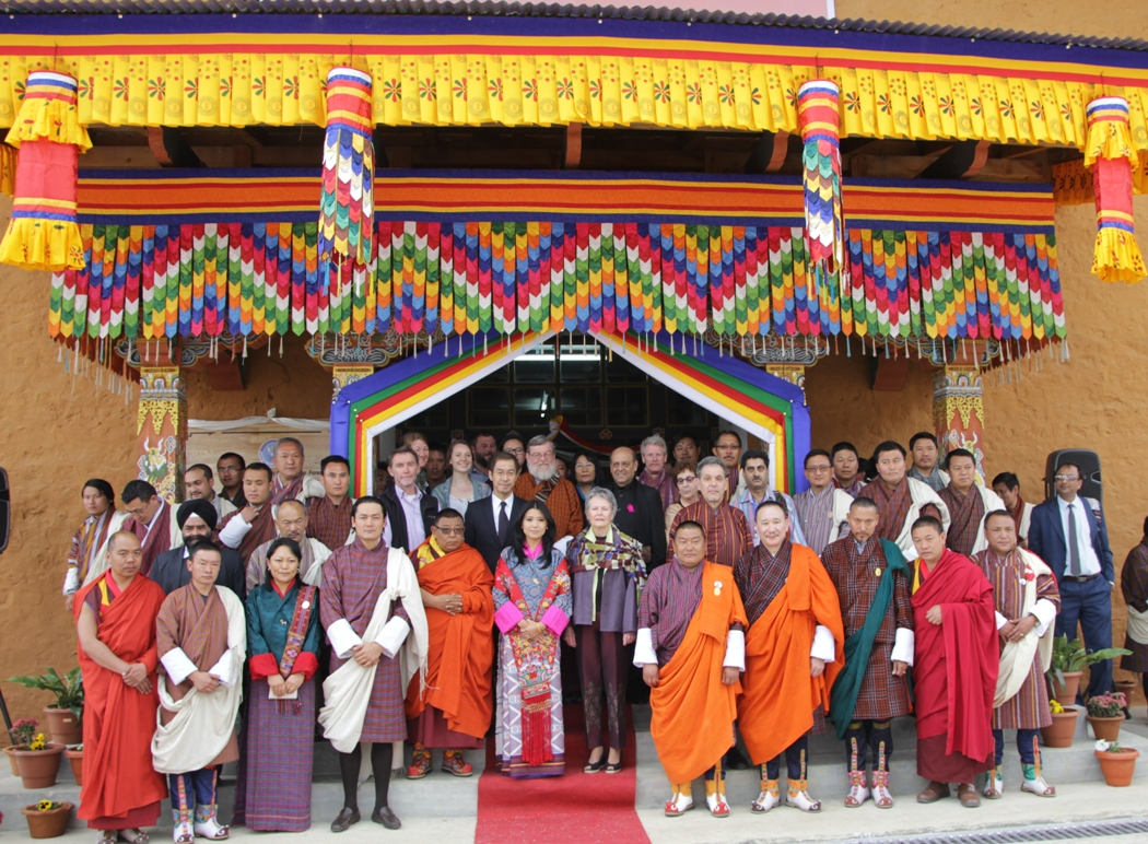 SAF  UMCSAFS inauguration 16 April 2015 Bumthang France Marquet Uploaded By Sunil Binjola