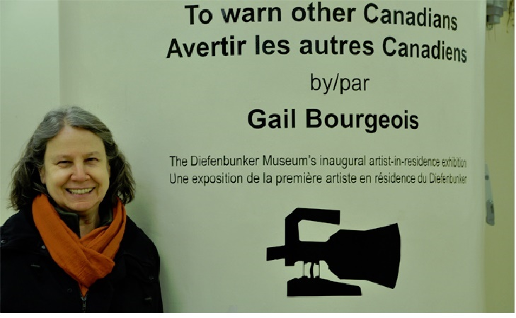 Artist Gail Bougeois 2014:- South Asia Foundation Asia Foundation